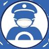 icone conducteur masque